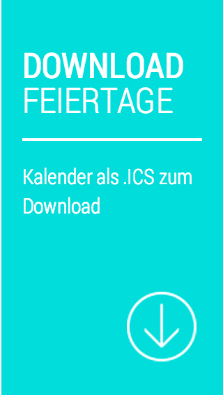 Download Feiertage als Kalender